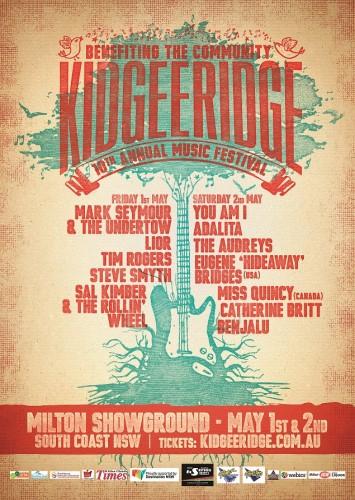Kidgeeridge 2015 Poster small